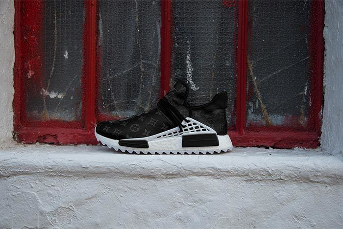 Pharrell Adidas Hu Nmd Louis Vuitton Black 2