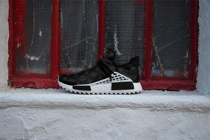 Pharrell Adidas Hu Nmd Louis Vuitton Black 2