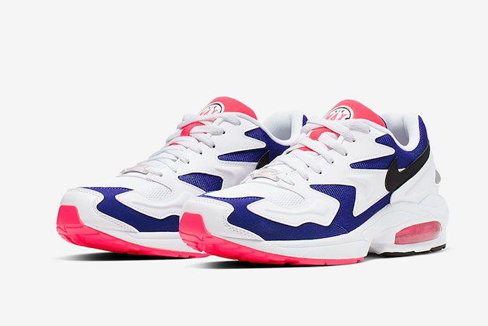 Nike Air Max 2 Light Purple Crimson Whole