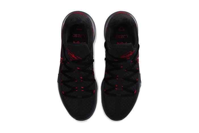 Nike Lebron 17 Bred Low Top
