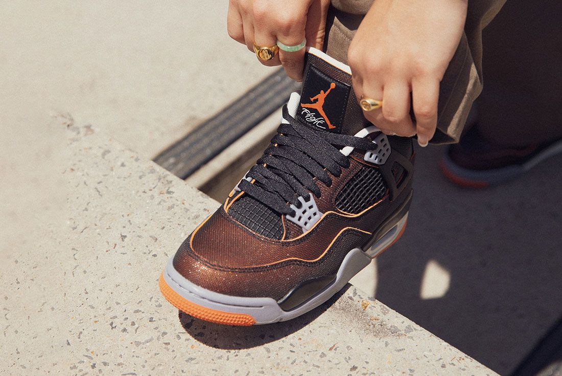 Scoop the Air Jordan 4 'Starfish' in the JD Sports Sneaker Sea ...