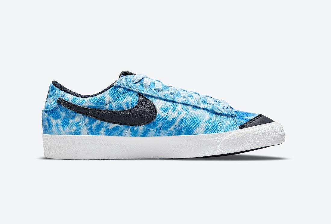 Nike Blazer Low 'Acid Wash'