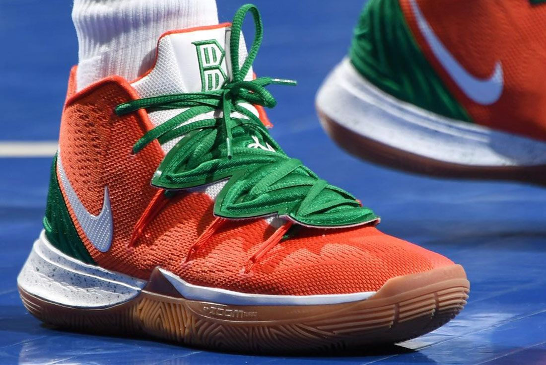 Nike Kyrie 5 Green Red