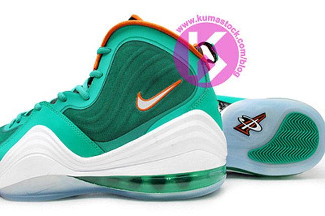 Nike Air Penny 5 Miami Dolphins 03 1