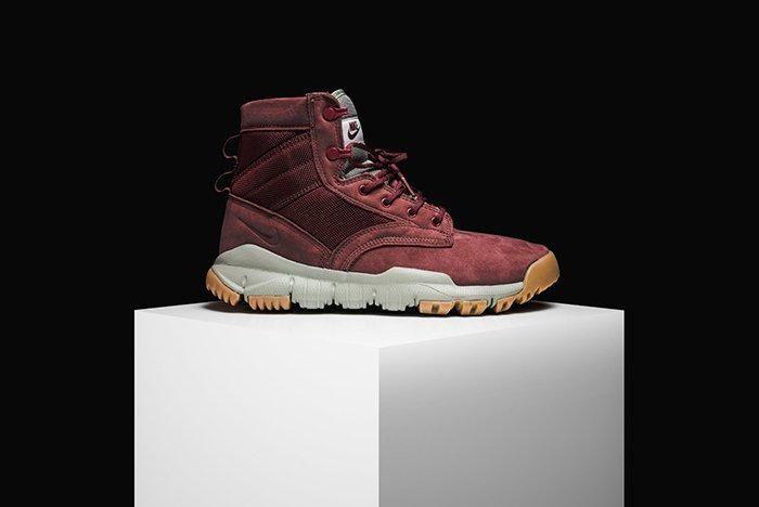 Nike Sfb Field 6 Leather Boot Dark Team Red 5