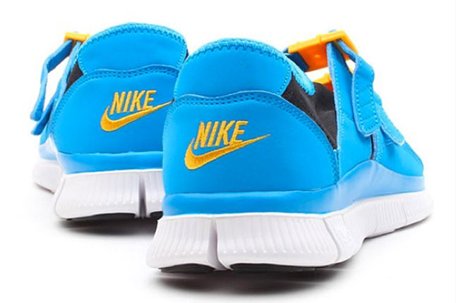 Nike Free Sock Racer Candy Pack Photo Blue Heels 1