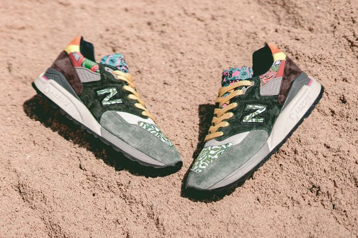 New Balance 998 M998Awk Made In Usa Earth Multicolor Release Date Pair