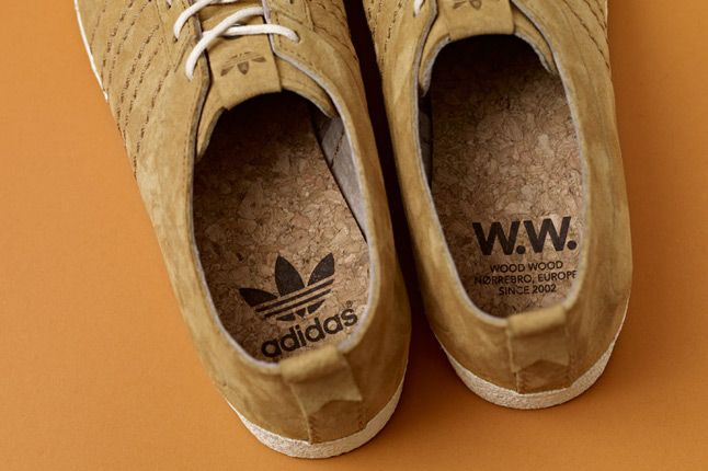 Adidas Consortium Gazelle Vintage Woodwood Heels 1