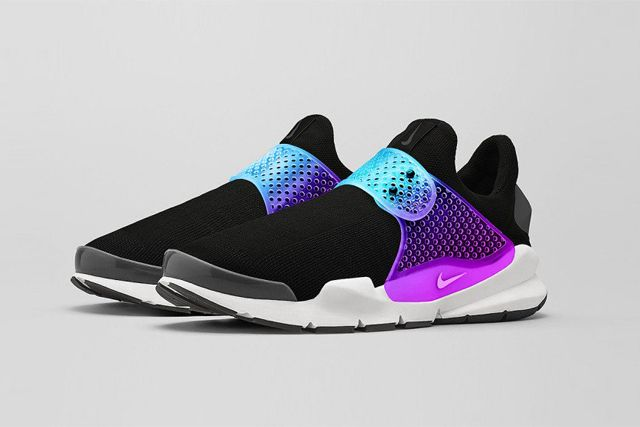 Nike Sock Dart Black Grape 1