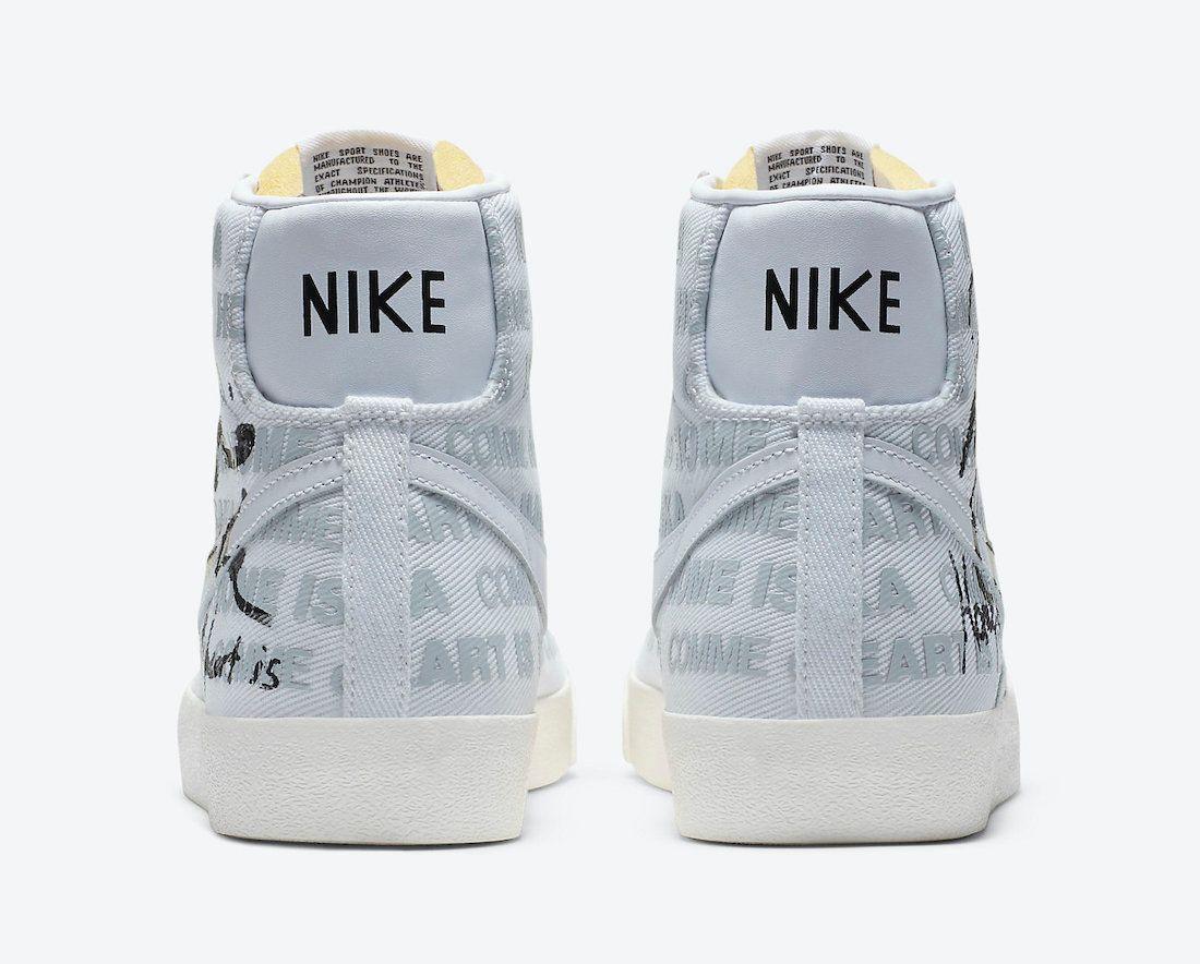 Naomi Osaka x Comme des Garcons x Nike Blazer Mid