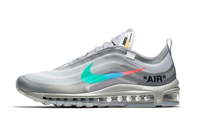 Off White X Nike Air Max 97 Menta 5