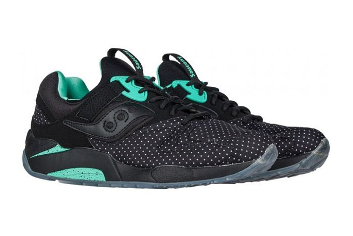Saucony Grid 9000 Micro Dot Black 1
