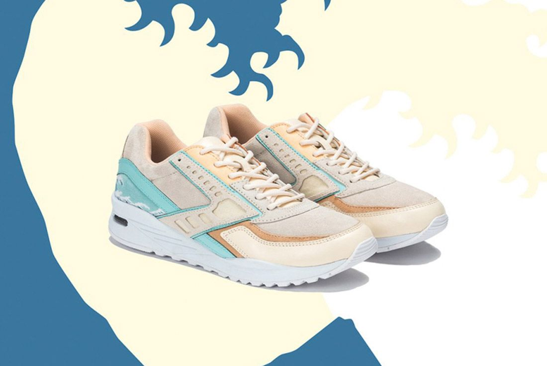 Pink Dolphin Brooks Regent Great Wave 12