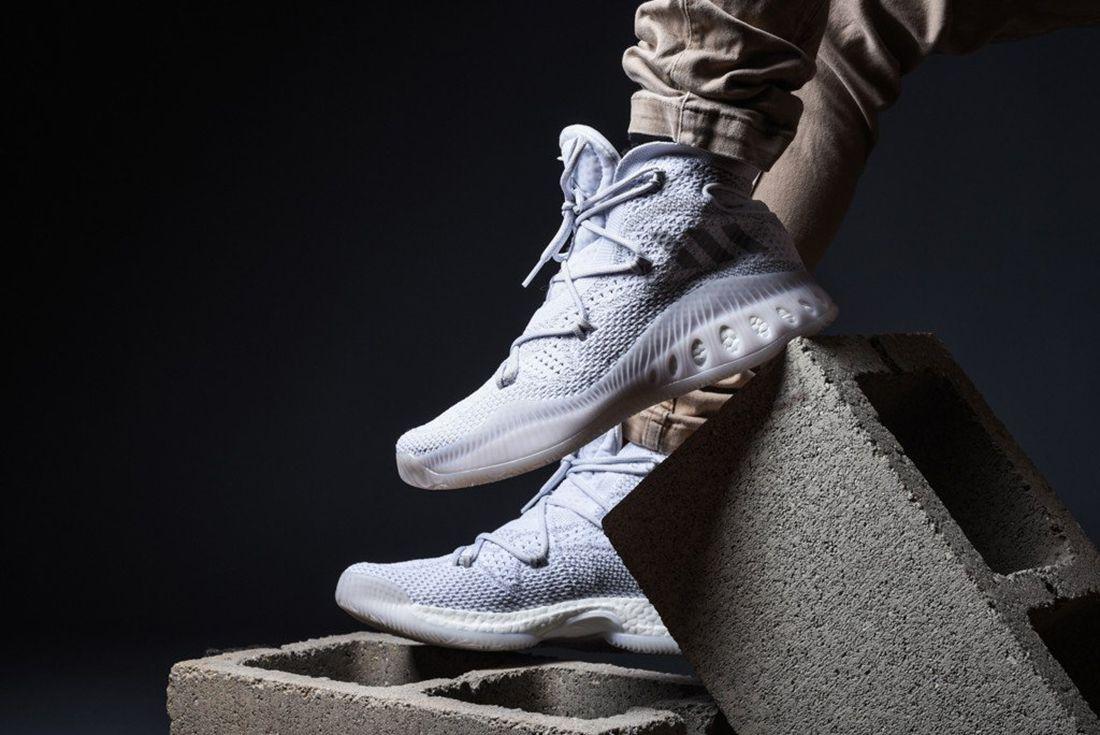 Adidas Crazy Explosive Primeknit Heather Grey 6