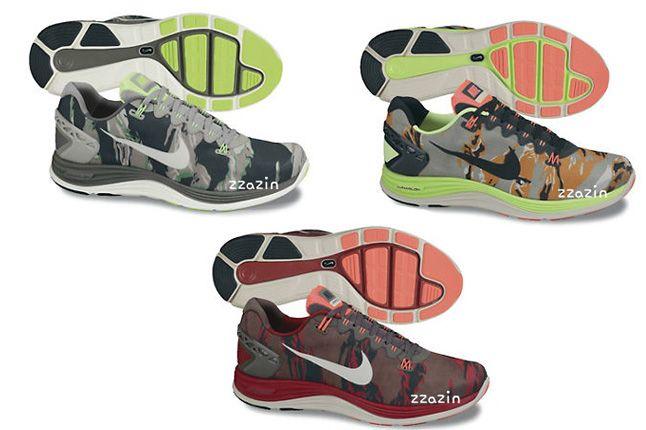 Nike Lunarglide 5 Lunarlon Camo Pack 1