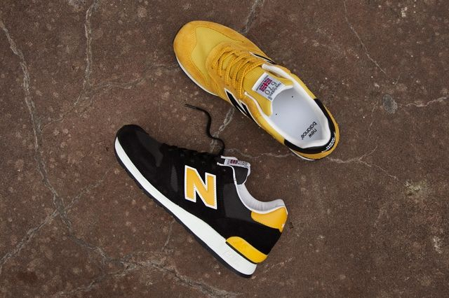 New Balance 670 Black Yellow Pack 1