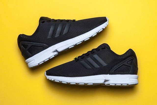 Adidas Zx Flux Black White 4