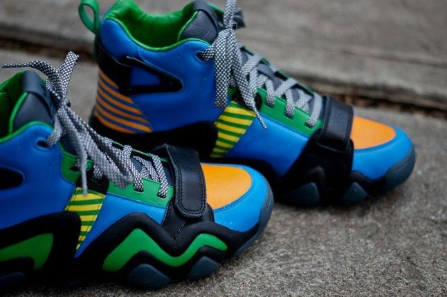 Adidas Opening Ceremony Crazy 8 Tennis Blue Midfoot Profile 1