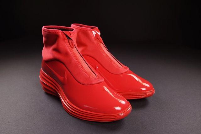Nike Wmns Lunarelite Sky Hi Sneakerboot Action Red 1