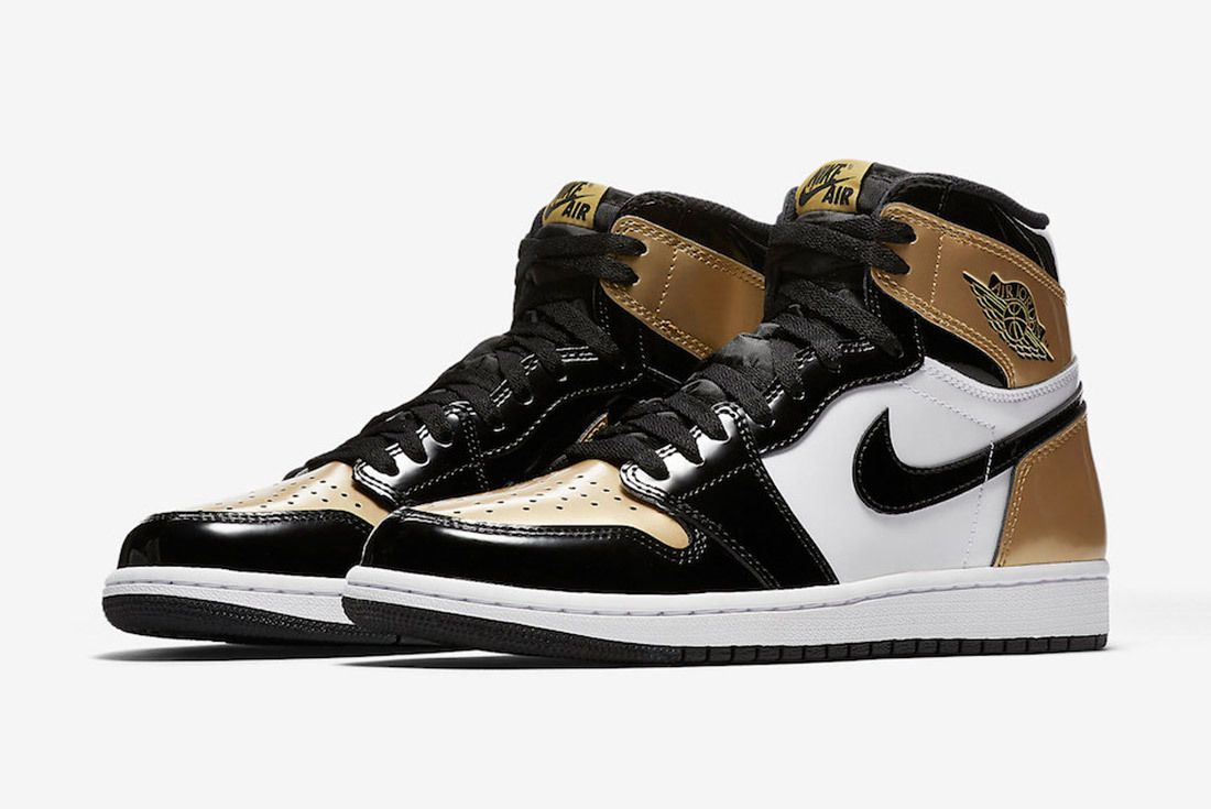 Gold Toe Air Jordan 1 861428 007 Sneaker Freaker 4