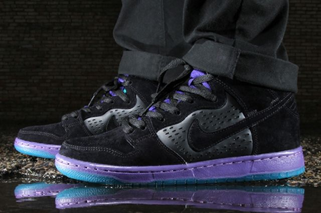 Nike Dunk High Grape 1
