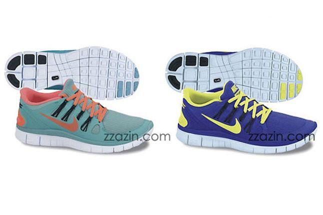 Nike Free Run 4 2013 Purple Teal 1