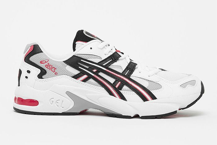 Asics Gel Kayano 5 Og White Red Black 1