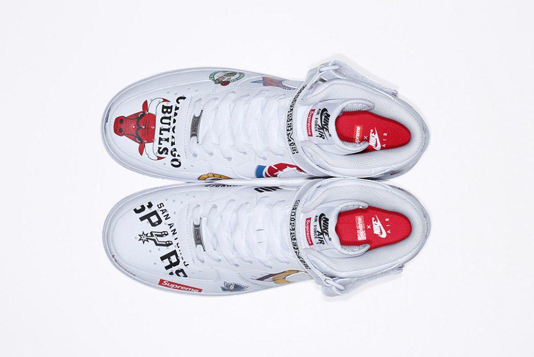 Supreme Nike Nba Air Force 1 High Sneaker Freaker 14