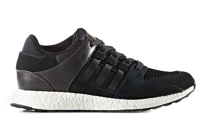 Adidas Eqt Support Boost Black White 1