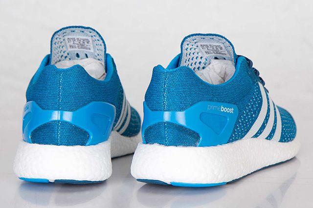 Adidas Primeknit Pureboost Solar Blue 1