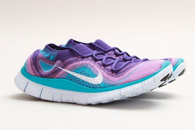 Nike Free Flyknit Grape