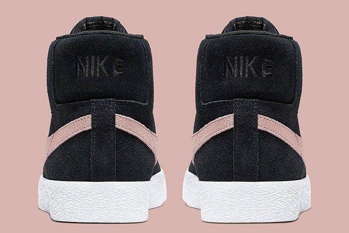 Nike Sb Blazer Mid Washed Coral Back