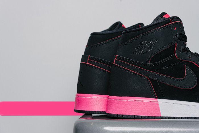 Air Jordan 1 High Gg Black Hyper Pink