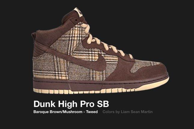 Nike Dunk Hi Sb Tweed 2004 1
