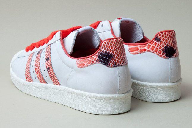 Adidas Consortium Shelltoe Snake Red 3 1