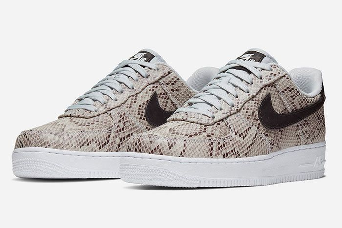 Nike Air Force 1 Low Snakeskin Front Angle