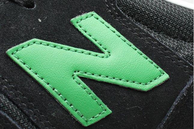 New Balance 620 Black Green Side Logo 1