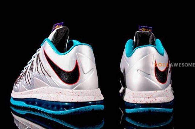 Nike Lebron X Low Hornets Heel Profile 1