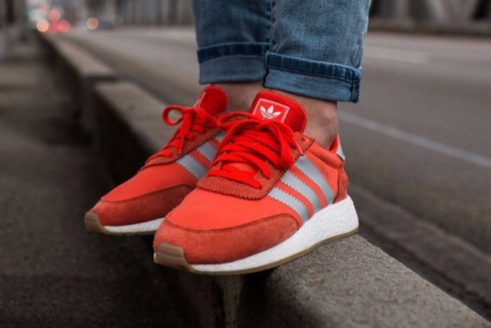 Adidas Iniki Runner Womens Energy Red 2