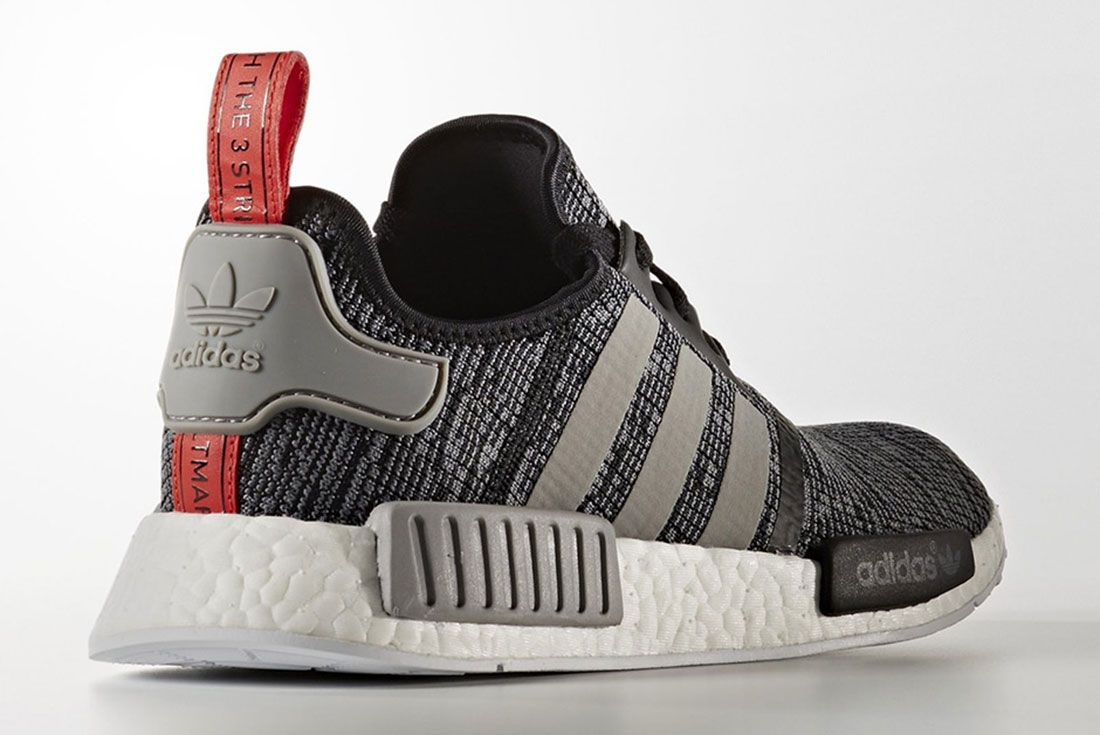 Adidas Nmd R1 Grey Glitch Pack R1