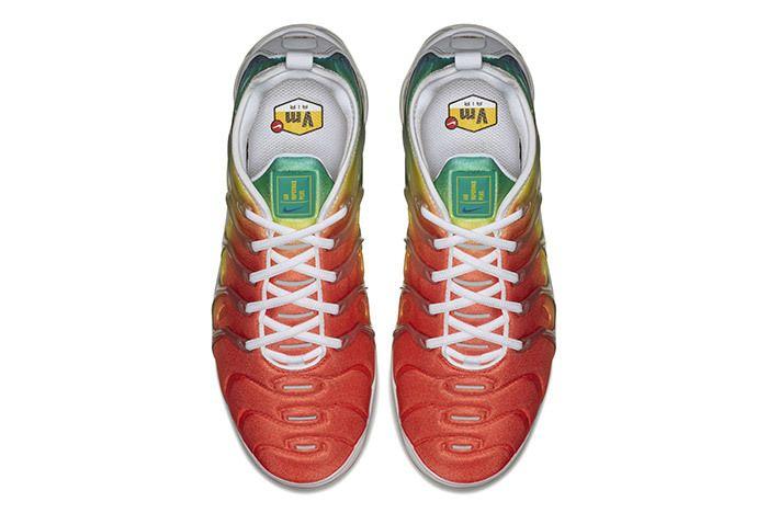 Nike Vapormax Plus Neptune Green Yellow 3