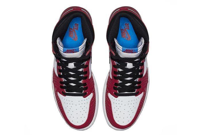 Air Jordan 1 Spiderman 4