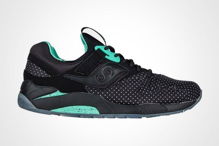 Saucony Grid 9000 Micro Dot Black Thumb