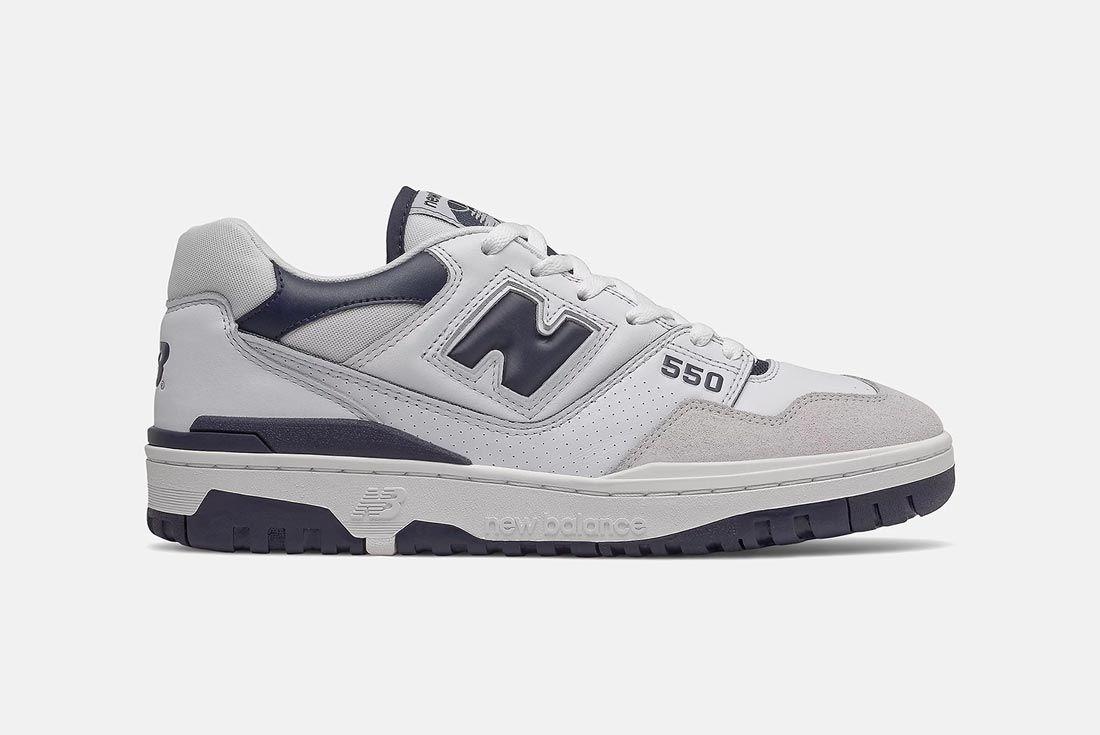 New Balance 550 Grey/Navy