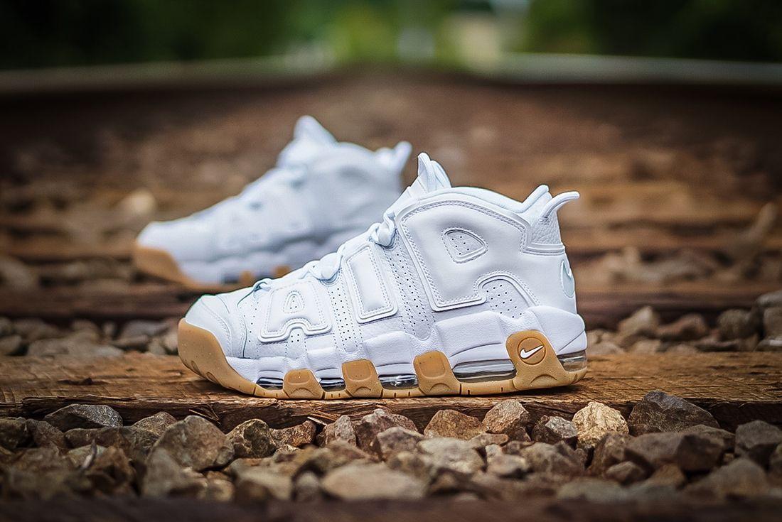 Nike Air More Uptempo ' White Gum'1