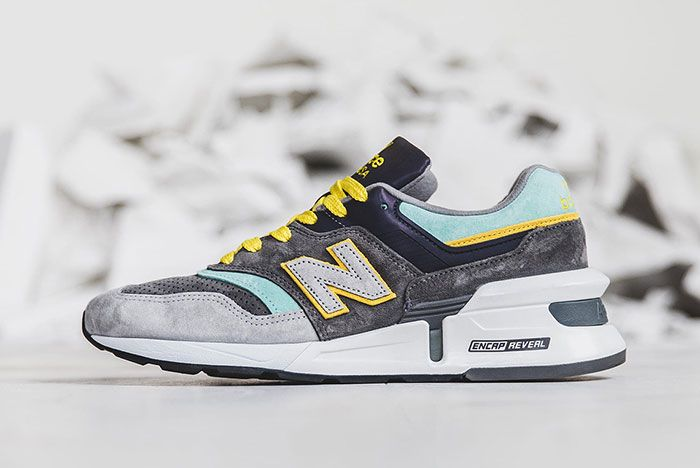 New Balance 997S Dtlr Greek Gods Lateral