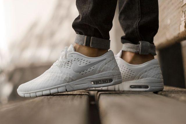 Nike Sb Eric Koston White Silver 1