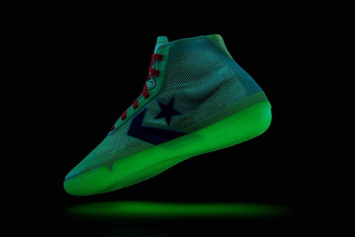 Converse All Star Pro Bb Nocturnal Glowing Lateral Side Shot