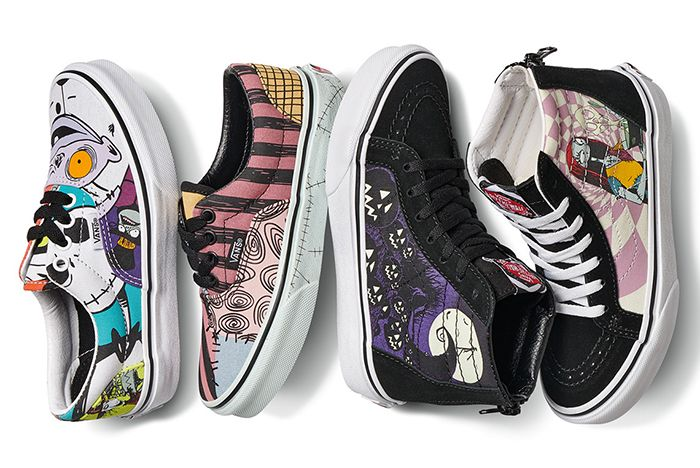 Vans Nightmare Before Christmas Flat Lay