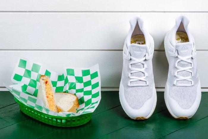 Adidas Golf Cross Knit Boost Pimento Cheese3